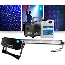 VEI G300 RGB Special Effects Laser with Chauvet DJ Jam Pack Emerald Lighting Package