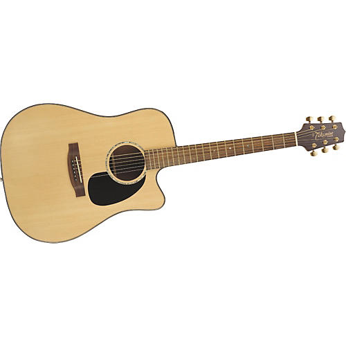 Takamine G340SC Solid Top Cutaway Dreadnought Acoustic Guitar