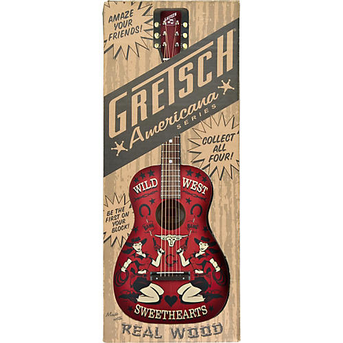 Gretsch Guitars G4530 Americana Series Limited-Edition Wild West Sweethearts Acoustic Guitar