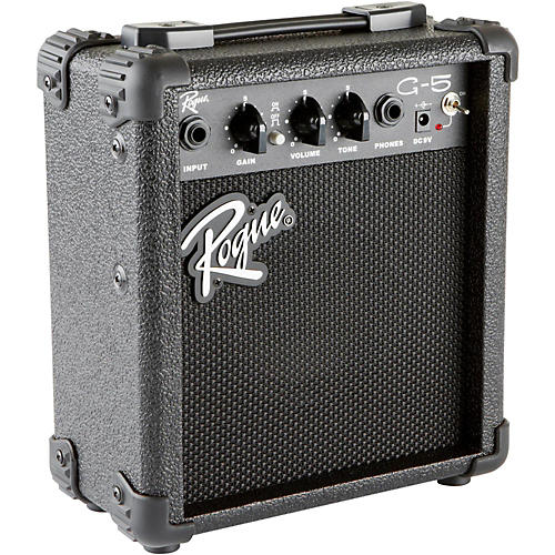 Rogue G5 5W Battery-Powered Guitar Combo Amp Condition 1 - Mint Black