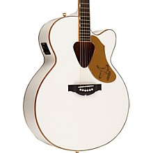 G5022C Rancher Falcon Cutaway Acoustic-Electric Guitar White