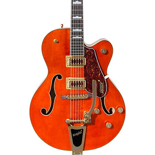 Gretsch Guitars G5420TG Limited Edition Electromatic '50s Hollow Body Single-Cut with Bigsby Orange Stain
