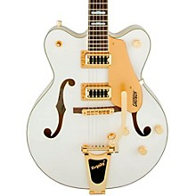 G5422TG Electromatic Double Cutaway Hollowbody Electric Guitar Snow Crest White