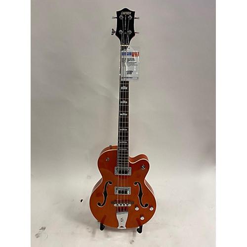 Gretsch Guitars G5440B Electric Bass Guitar Orange