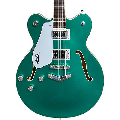 Gretsch Guitars G5622LH Electromatic Center Block with V-Stoptail Left-Handed Electric Guitar Georgia Green