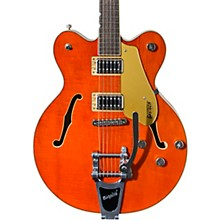 G5622T Electromatic Center Block Double-Cut with Bigsby Orange Stain