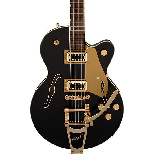 Gretsch Guitars G5655TG Electromatic Center Block Jr. Bigsby Electric Guitar Black Gold