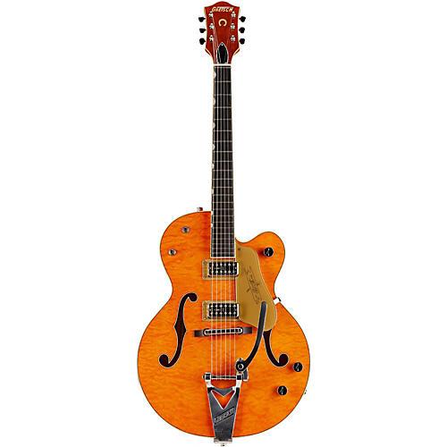 Gretsch Guitars G6120-1959LTV LTD Chet Atkins Quilt Top Semi-Hollow Electric Guitar