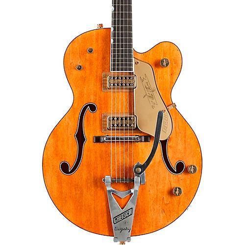 Gretsch Guitars G6120CS Nashville Relic, Masterbuilt By Stephen Stern Vintage Orange