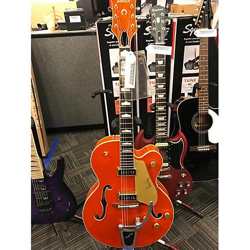 Gretsch Guitars G6120DE DUANE EDDY SIG Hollow Body Electric Guitar Orange