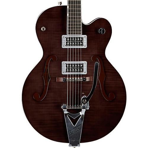 Gretsch Guitars G6120SH Brian Setzer Hot Rod Flame Maple Body Semi-Hollow Electric Guitar Condition 2 - Blemished Tuxedo Black 190839919205