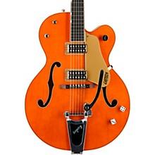 G6120SSL Brian Setzer Nashville Hollowbody Electric Guitar Vintage Orange - Lacquer