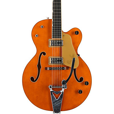 "Gretsch Guitars G6120T-BSSMK Brian Setzer Signature Nashville Hollow Body '59 ""Smoke"" with Bigsby Electric Guitar"