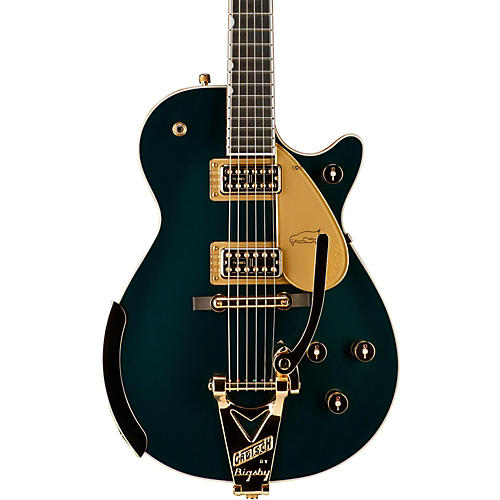 Gretsch Guitars G6134T-CDG Limited Edition Penguin with Bigsby and Gold Hardware Solidbody Electric Guitar