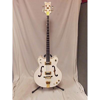 Gretsch Guitars G6136LSB White Falcon Electric Bass Guitar