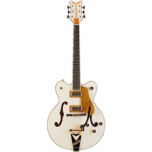 Gretsch Guitars G6139T-CBDC White Falcon Center Block Double Cutaway with Bigsby Tremolo
