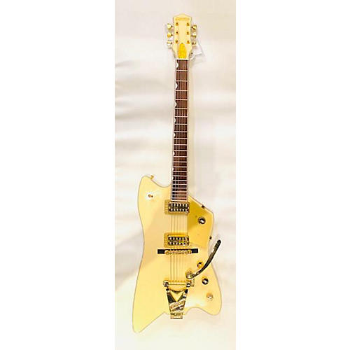 Gretsch Guitars G6199 Billy Bo White Penguin TLWP Solid Body Electric Guitar White