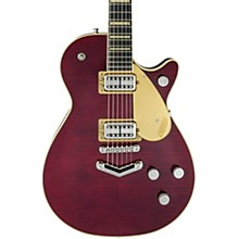 G6228FM-PE Players Edition Duo Jet Electric Guitar Dark Cherry Stain