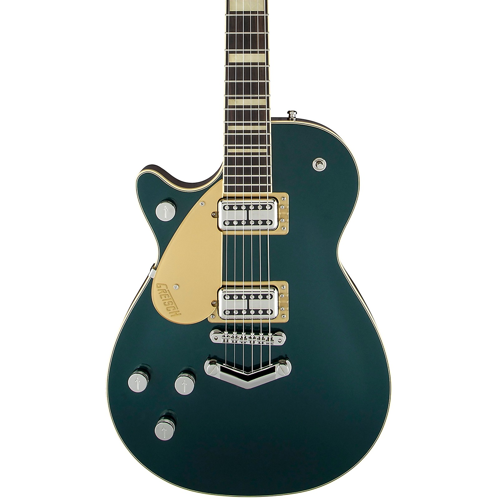 Gretsch Guitars G6228LH Players Edition Jet BT with V-Stoptail Left-Handed Electric Guitar