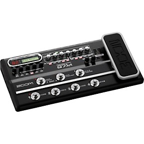 zoom tube guitar multi effects pedal usb interface musician 39 s friend. Black Bedroom Furniture Sets. Home Design Ideas