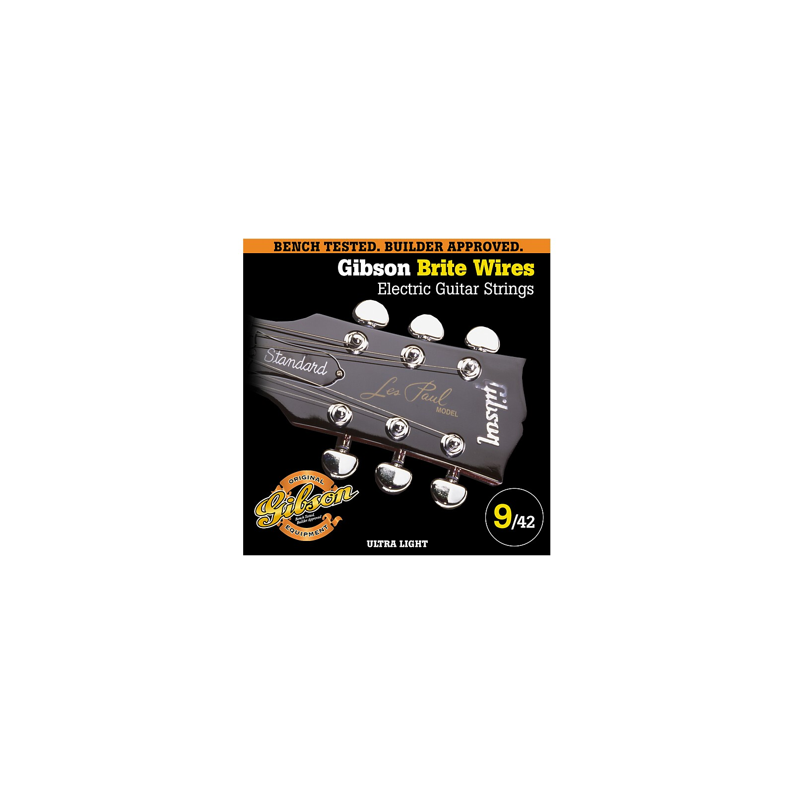 Gibson G700UL Ultra Light Brite Wires Electric Guitar Strings