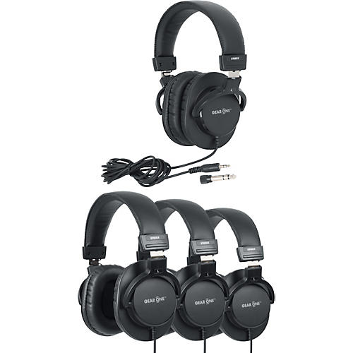 Gear One G900DX Headphone 4 Pack