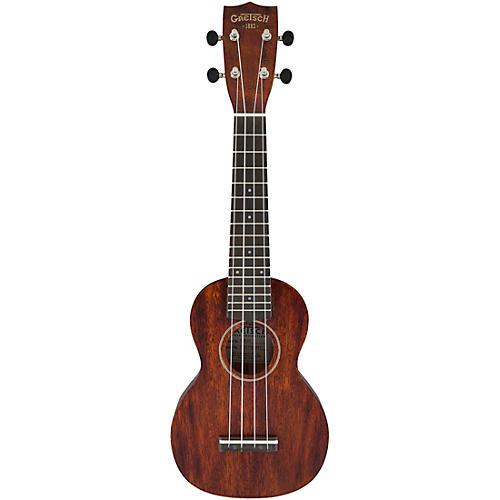Gretsch Guitars G9100 Soprano Standard Ukulele with Ovangkol Fingerboard Condition 1 - Mint Vintage Mahogany