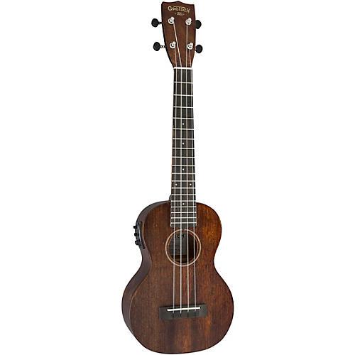 Gretsch Guitars G9110-L Long-Neck Concert Acoustic-Electric Ukulele Vintage Mahogany