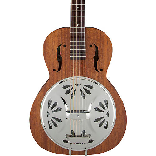 Gretsch Guitars G9200 Boxcar Round-Neck Resonator Guitar Natural