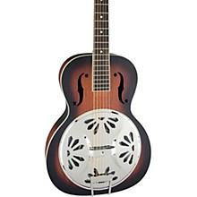 Open BoxGretsch Guitars G9220 Bobtail Round-Neck Resonator Guitar, Spider Cone