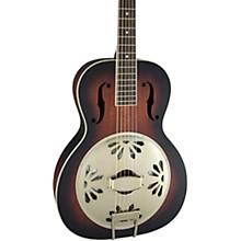 Open BoxGretsch Guitars G9240 Alligator Round-Neck, Mahogany Body Biscuit Cone Resonator Guitar