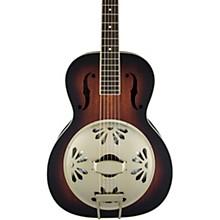 Open BoxGretsch Guitars G9241 Alligator Biscuit Round-Neck Resonator Guitar