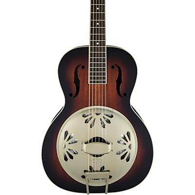 Gretsch Guitars G9241 Alligator Biscuit Round-Neck Resonator Guitar