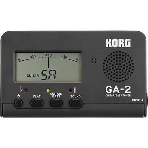 Korg GA-2 Handheld Chromatic Tuner Silver