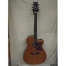 Cort GA5FBWNS Acoustic Electric Guitar