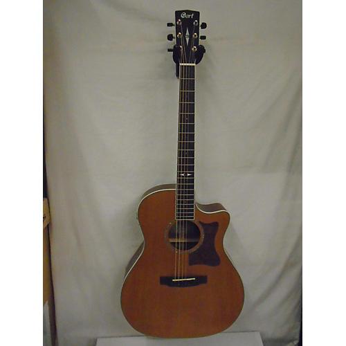 Cort GA5FBWNS Acoustic Electric Guitar Natural