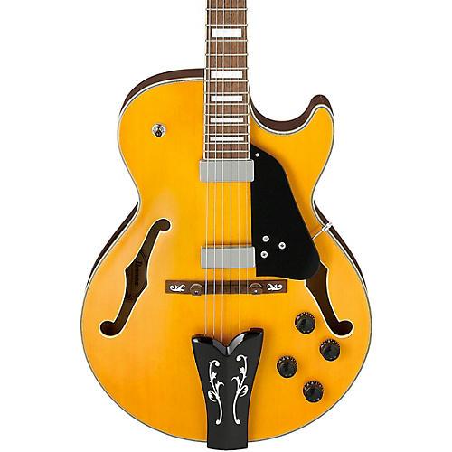 Ibanez GB10EM George Benson Hollowbody Electric Guitar Antique Amber