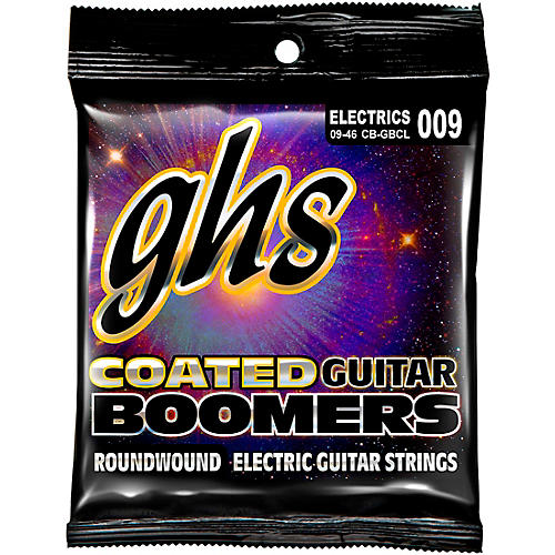 GHS GBCL Coated Boomers Custom Light Electric Guitar Strings