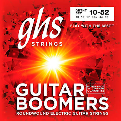GHS GBTNT Boomers Thin-Thick Electric Guitar Strings