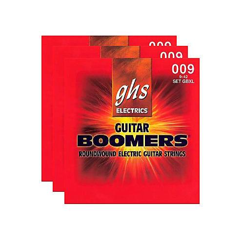 GHS GBXL Boomer 3-Pack Electric Guitar Strings