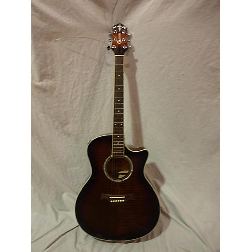 Crafter Guitars GCL80/BRS Acoustic Guitar brown burst