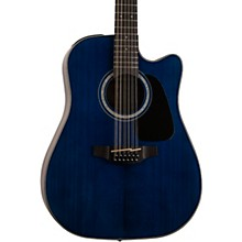 GD-30CE 12-String Acoustic-Electric Guitar Deep Blue
