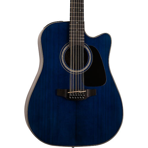 Takamine GD-30CE 12-String Acoustic-Electric Guitar Condition 1 - Mint Deep Blue