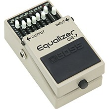Open BoxBoss GE-7 Equalizer Pedal