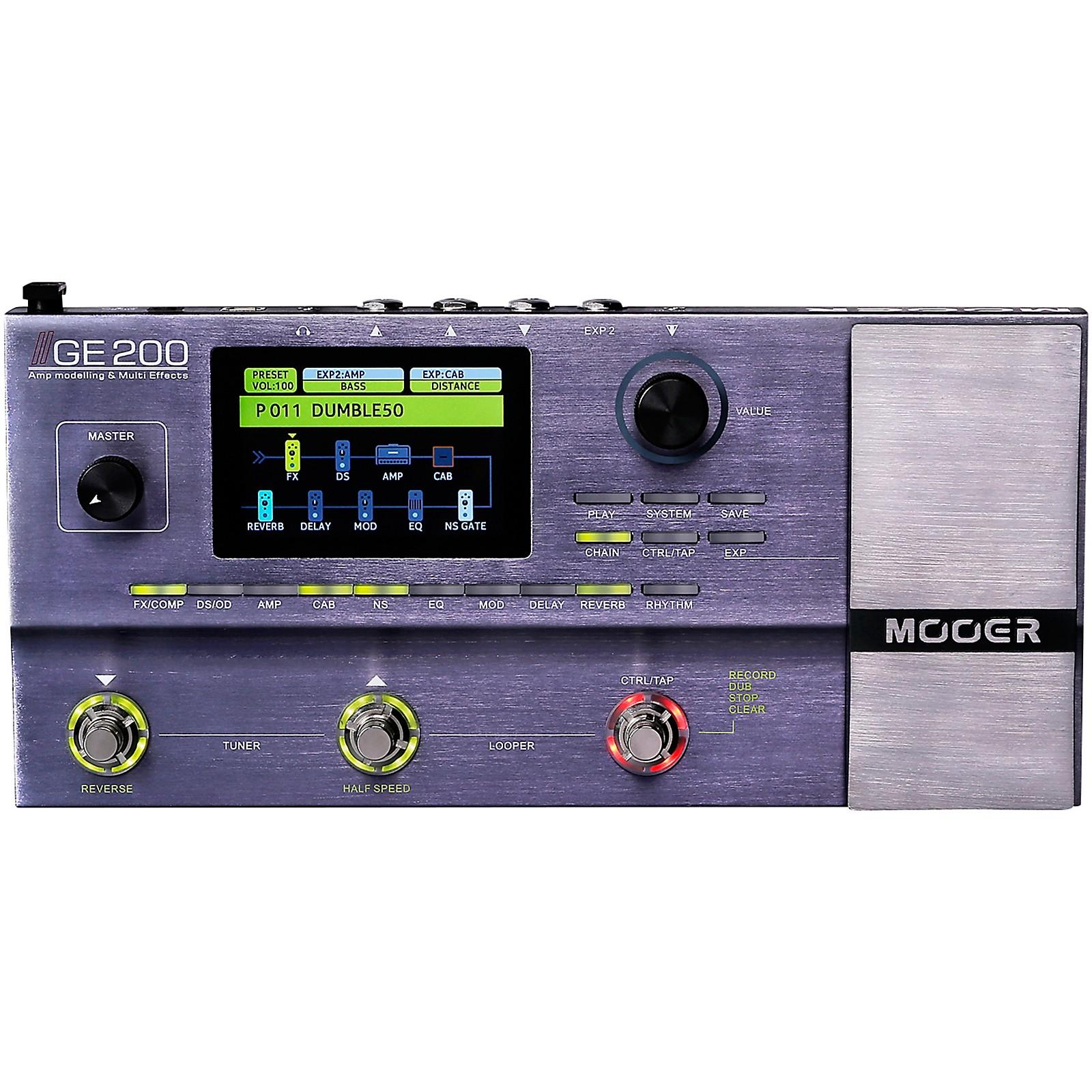 Mooer GE200 Multi-Effects Processor