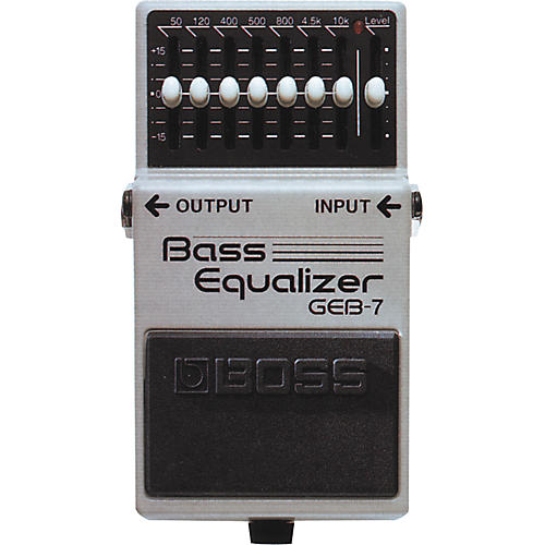 boss geb 7 bass equalizer pedal musician 39 s friend. Black Bedroom Furniture Sets. Home Design Ideas