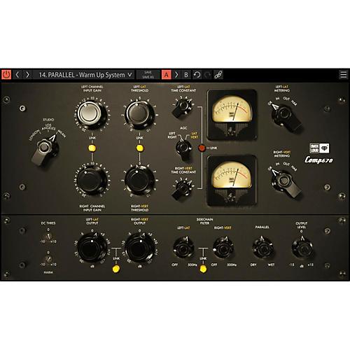 Overloud GEM Comp670 Compressor/Limiter (Download)