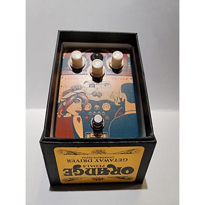 Orange Amplifiers GETAWAYDRIVER Effect Pedal