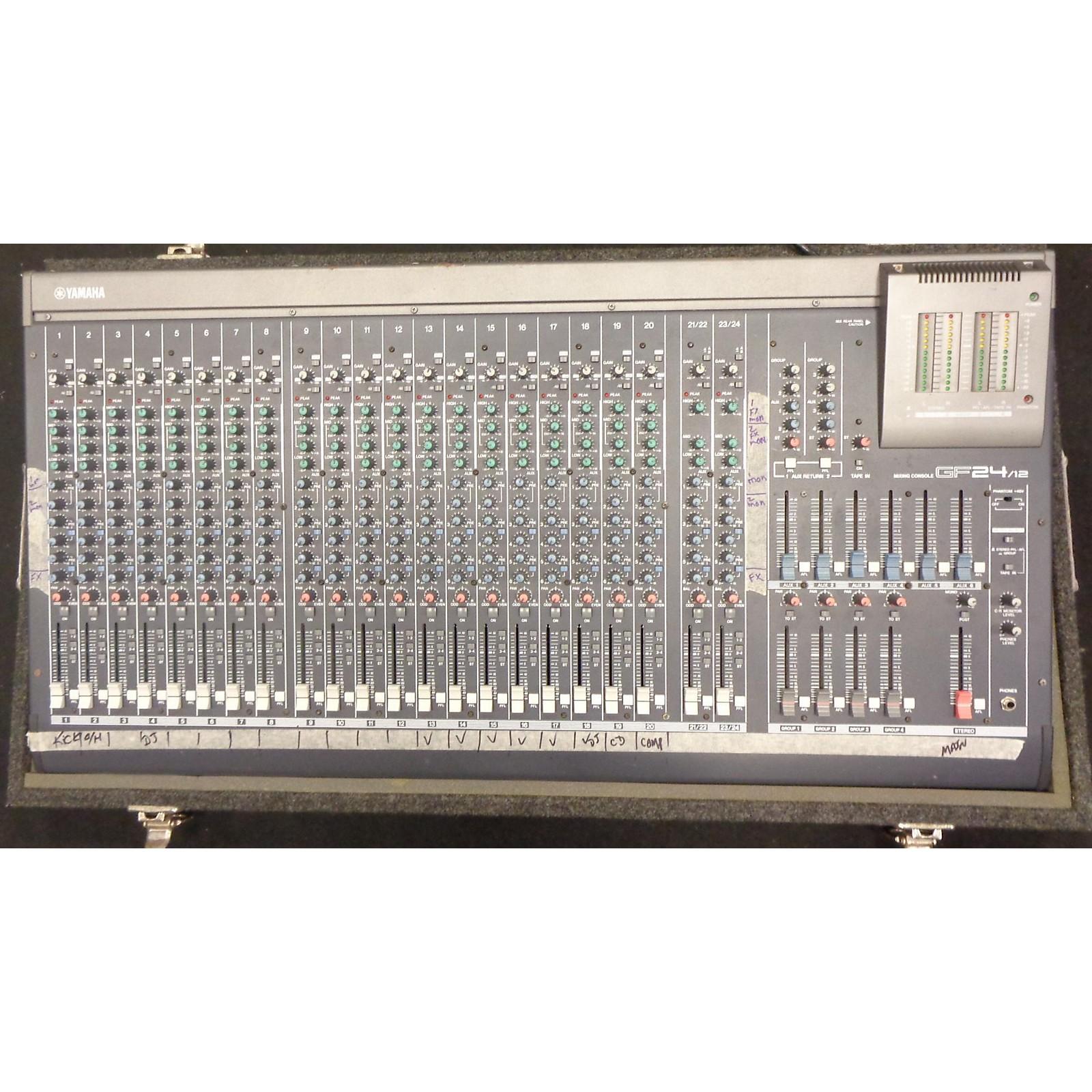 Yamaha GF24/12 Mixing Console Unpowered Mixer