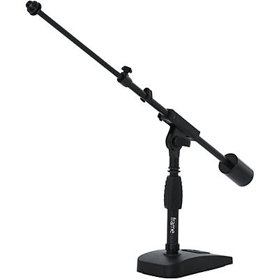 Gator GFW-MIC-0822 Telescoping Boom Mic Stand Desktop & Bass Drum